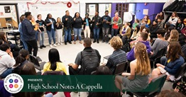 High School Notes A Capella
