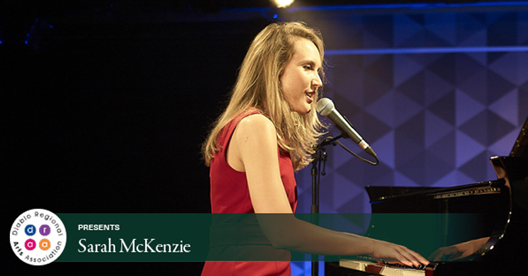 Sarah McKenzie singing