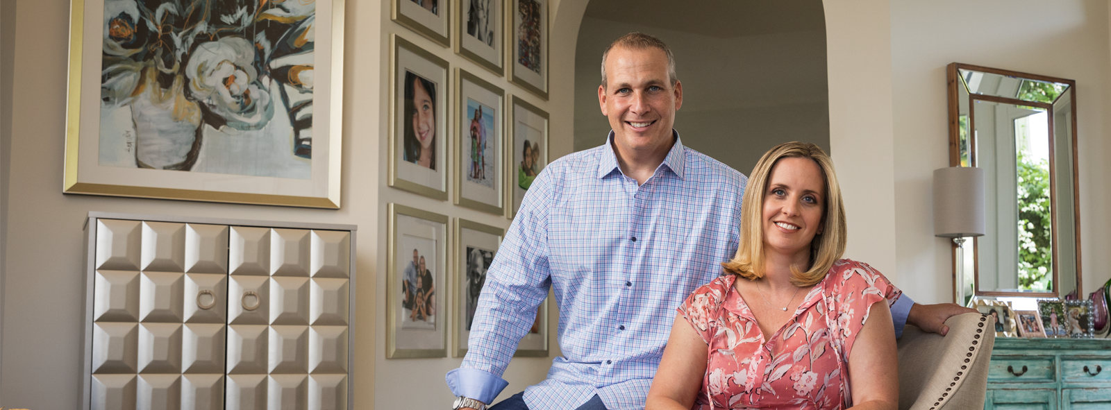 Image of First Republic Personal Banking client(s) Michael Buczyner and Jennifer Buczyner, M.D.