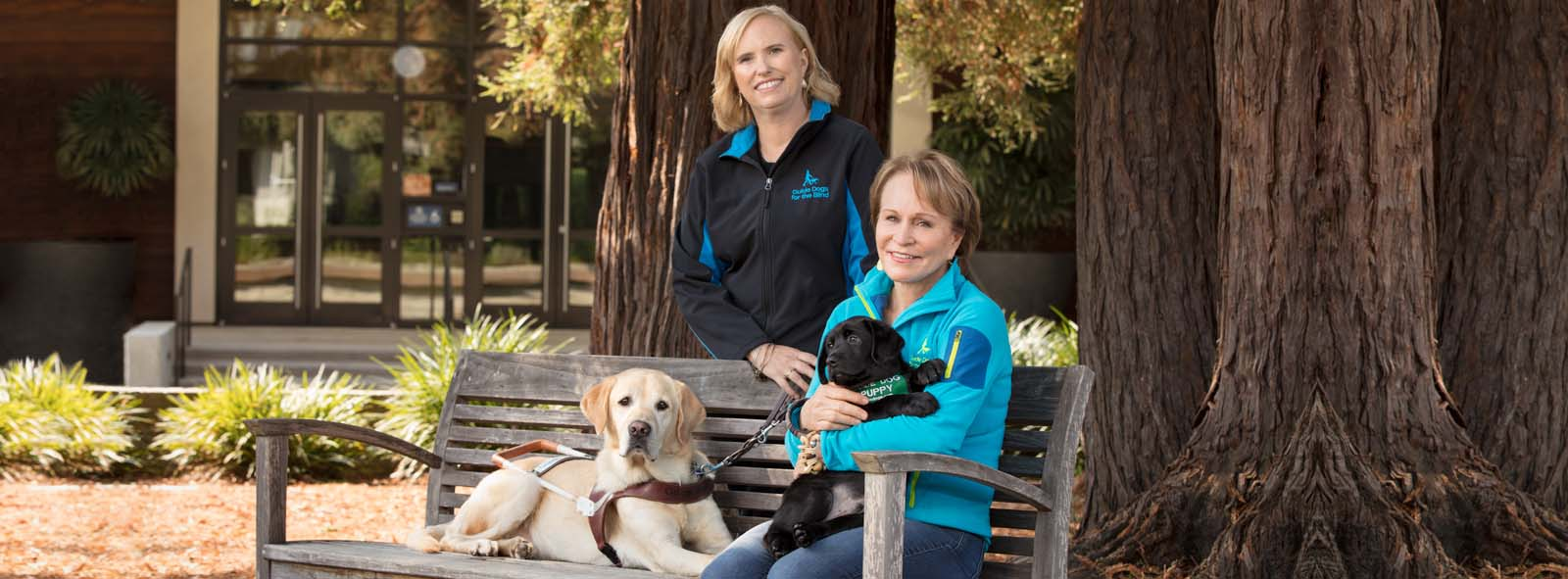 Select to access video of First Republic Nonprofits client(s) Guide Dogs for the Blind