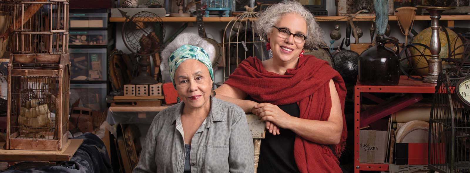 Image of First Republic Arts client(s) Betye and Alison Saar