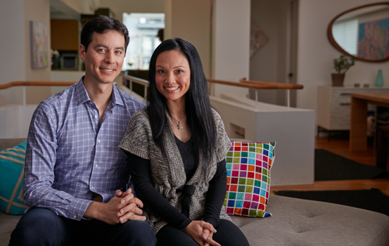First Republic clients Christina Pham and Johannes Kratz