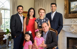 First Republic clients The Tahbazof Family.