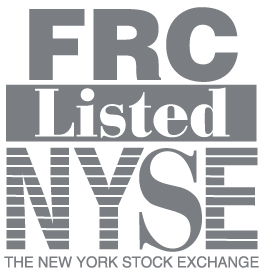 FRC Listed NYSE