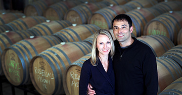 National Wine Day spotlight andrew Vingiello, Wine maker Pursuing a Passion as a second career