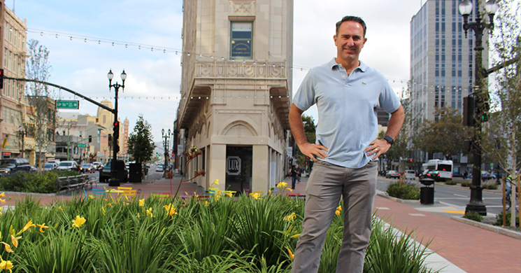 Entrepreneur Doug Brien in Downtown Oakland
