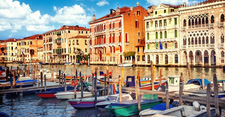 a photograph of venice, italy brings to mind what topics need to be considered when retiring abroad