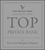 Top Private Bank by Private Asset Management Magazine