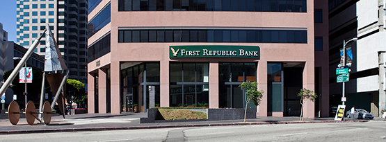 Downtown Los Angeles First Republic Bank