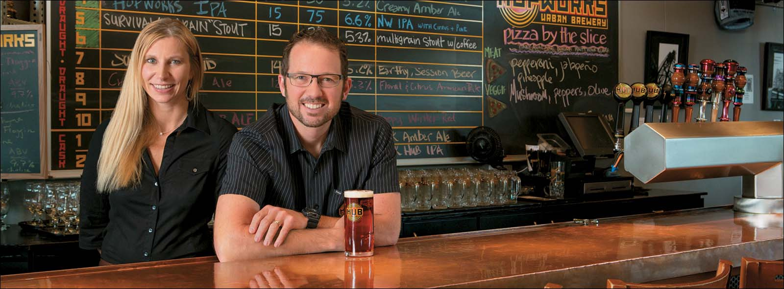 Select to access video of First Republic Small Businesses client(s) Hopworks Urban Brewery