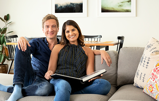 Mike Johnston and Nicole Mirchandani