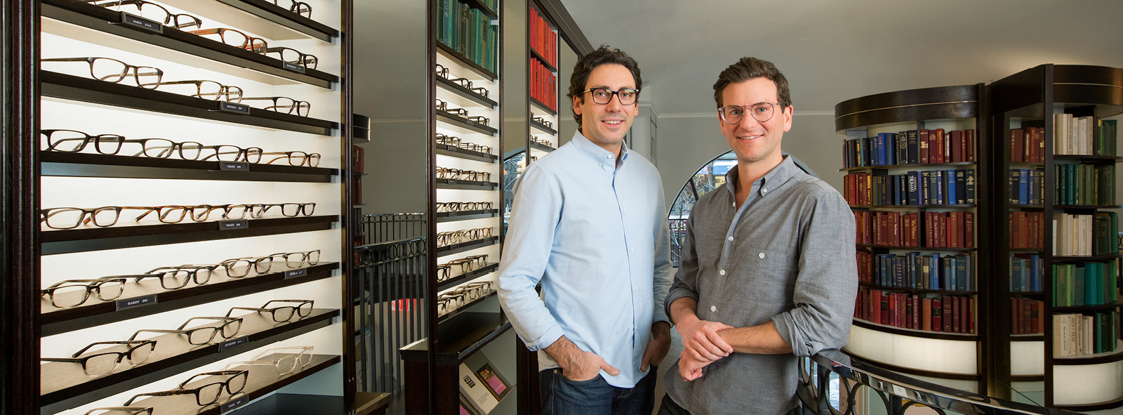 Image of First Republic Entrepreneur client(s) Neil Blumenthal and Dave Gilboa