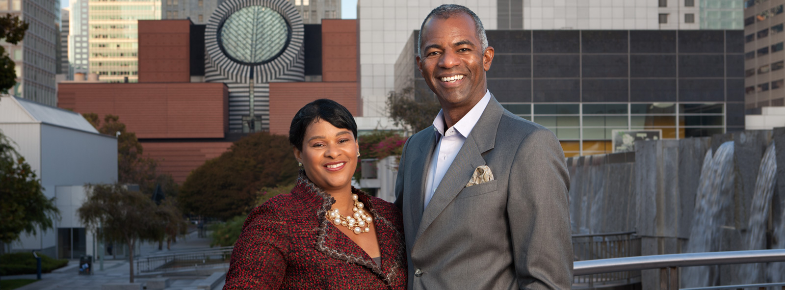 Image of First Republic Philanthropists / Volunteers client(s) N. Anthony Coles, M.D. and Robyn Coles