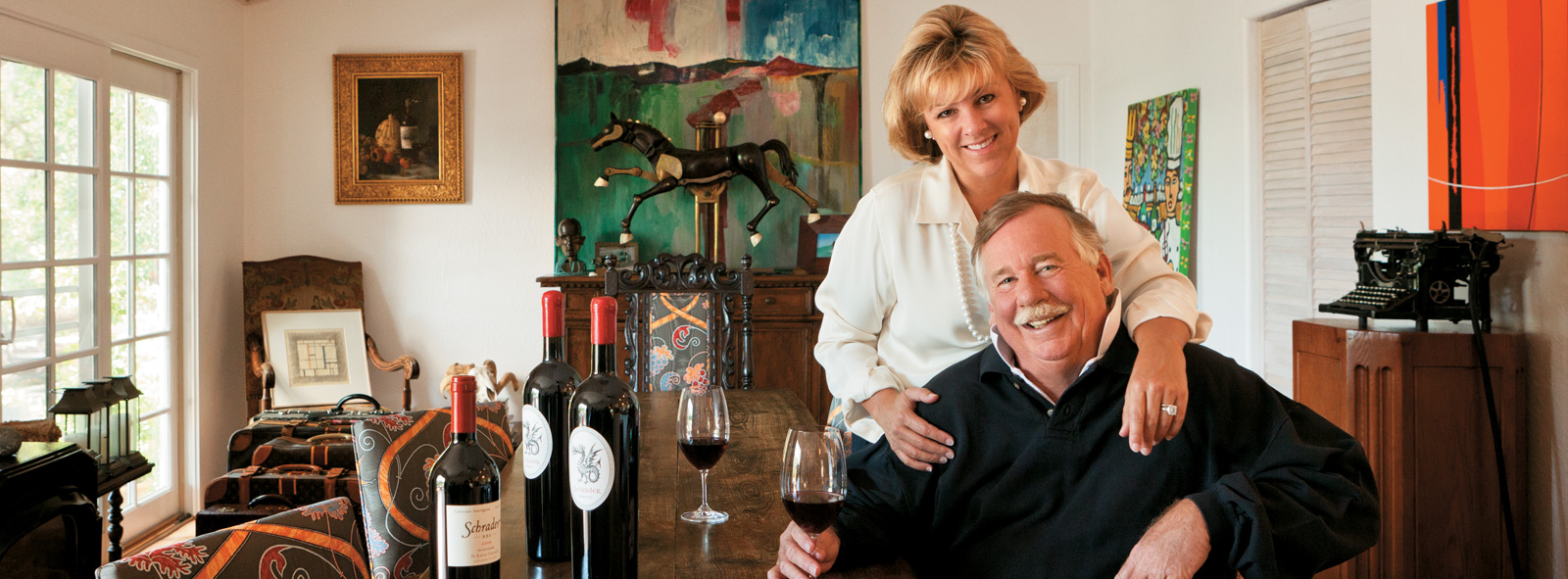 Select to access video of First Republic Small Businesses client(s) Schrader Cellars