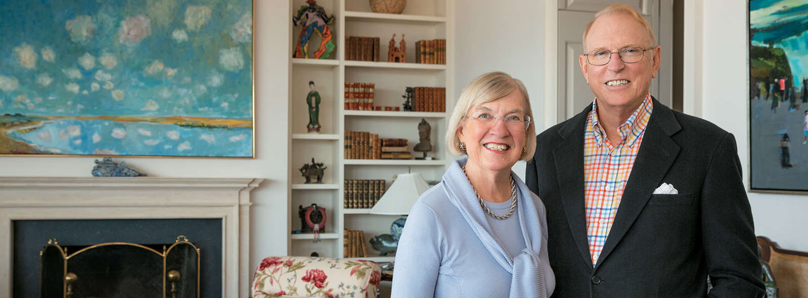 Image of First Republic Philanthropists / Volunteers client(s) Karin and David Chamberlain
